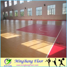 PVC used Flooring Basketball Court covering for sale