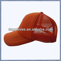 Mens Half Mesh Adjustable Trucker Cap Baseball Hat