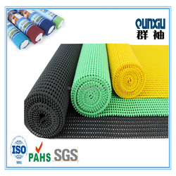 Alibaba China manufacturer pvc foam non slip mat /carpet underlay mat/black roll