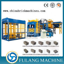 QT8-15 Large concrete block making factory in south africa building material machinery