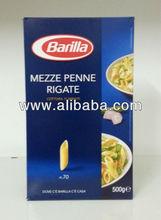 MEZZE PENNE RIGATE BARILLA Durum Wheat Made in Italy