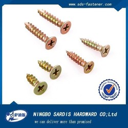 China supplier screws,Chipboard Screws With Ribs Under The Head, self tappling screw alibaba china