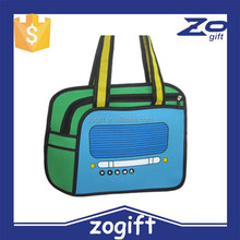 ZOGIFT factory sell 54 style world lastest design bag 3d high quality bag novel hand bag for ladies