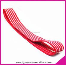 Fashion knitted elastic headband,non slip sport headband