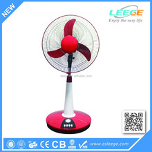 FD-T02 16 inch Energy saving 3 to 5 hours working DC 12V fan/electric 12v dc table fan