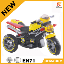 2015 Cool style battery operated 6V kids motorcycle made in China