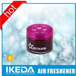 Promotional gel air freshener