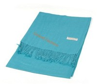 Stocks CLASSIC solid color acrylic scarf 30% silk 70% 12 colors