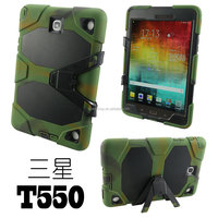 8 and 9.7 inch tablet case Hybird Shockproof Case For Samsung Galaxy Tab A T350 T550