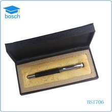 Promotional Classical Black Metal Rollerball Gift Pen Set