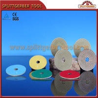 Wet Granite Diamond Polishing Pads For Stone