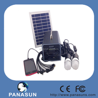 solar mini home lamp power led light kit with cheap price and lead acid battery
