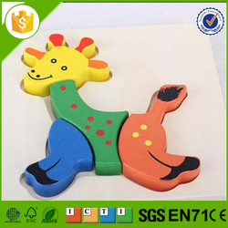 Professional educational toy 3d wooden puzzle with low price