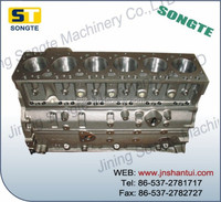 excavator engine cylinder block,6D125 NT855 C6121 WD615
