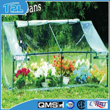 Cold Frame with Three Spans PVC Cover And Lgith Weight