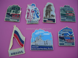 Fridge Magnet For Different Countries with country map