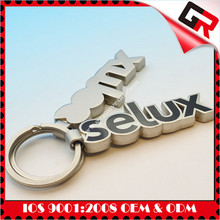 Cheap customized logo promotional Silkscreen Printed Logo high quality game keychain