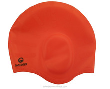17years professional factory Offer custom multi-function ear muff silicone swim caps