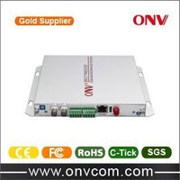 factory product low price high quality 16 Channel Video Fiber Optic Transceiver with 16 Forward Audio