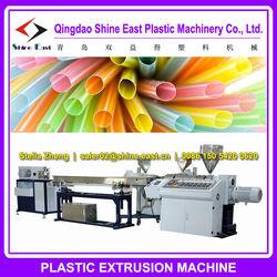 plastic drink straw making machine / drinking straw production line