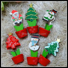 2015 christmas theme christmas clips santa claus note clip snowman memo clips for sale