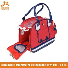 OEM/ODM Available Eco-Friendly Material Red bike pet carrier
