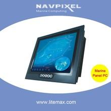 "LITEMAX 15"" IP65 1000 or 1600 nits Sunlight Readable Marine Panel PC, XGA"