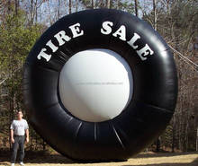 Factory direct inflatable tire for advertising display