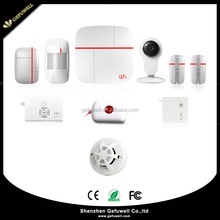 720P HD Wireless Wifi Alarm System iOS/Android/PC APPs Smart Home Camera Security System