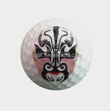 cheap golf gift ball -- custom made any logo ball