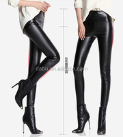 2014 women sexy tights leather pants mature sexy pictures leather leggings for women