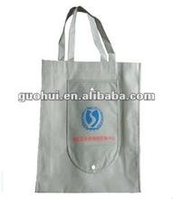 Fashion non-woven foldable shopping bag