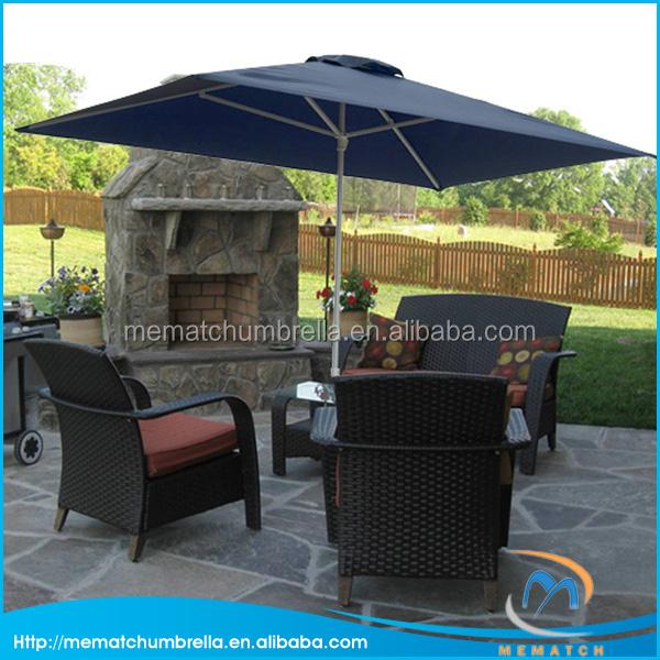 outdoor furniture leisure garden umbrella with steel pole