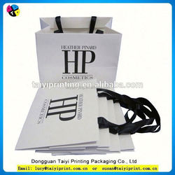Eco-friendly foldable paper folding bags shopping