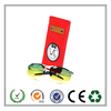 Custom classic red 19*7cm felt sunglasses case wholesale on alibaba