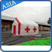 Rapid Deployable Shelters, Inflatable tunnel tent for emergency shelters