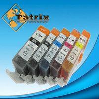 Printer Consumables Compatible Black Color Inkjet Ink Cartridge for Canon PGI-725/CLI-726 _p
