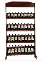 Custom wooden wine display