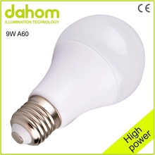 Nano-ceramic lamp housing style energy saving e27 7w led lighting bulb