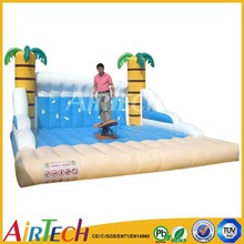 high quality popular inflatable skateboard mechanical games for fun