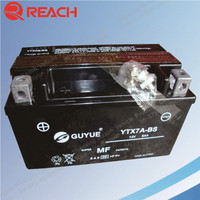 Maintenance Free 12V Rechargeable Exide Motorcycle Battery Wholesaler from China