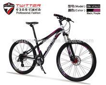 2014 nuevos productos 24 velocidad de la bicicleta de aluminio de bici de la suciedad