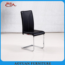 A234 modern design pu leather metal dining room chair furniture