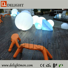 Alibaba China lighting up RGB glowing remote control led patio centerpiece light
