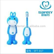 burro cepillo de dientes de los niños