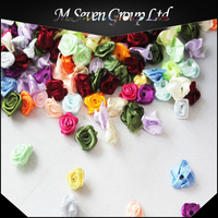 Wholesale Chiffon Flower, Rose Fabric Flower, Silk Flower for Garment/Shoes