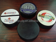 2015 new design and high quality rubber foam ice hockey puck