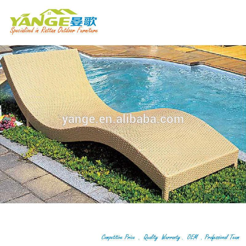 Chaise longue en rotin ext rieur mobilier de jardin for Chaise longue rotin