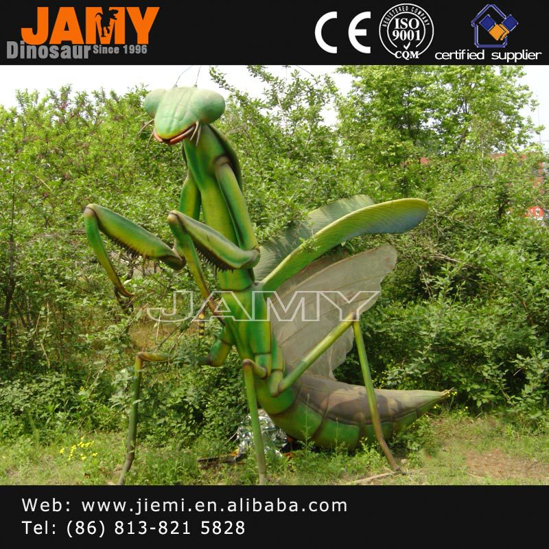 Simulation insect model of Mantis for Theme park