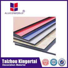 Alucoworld impact assistance 4mm acp aluminum composite panel china supplier